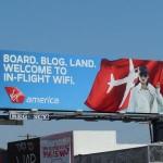 Креативная #reklama №1k593 — Билборды авиакомпании Virgin America
