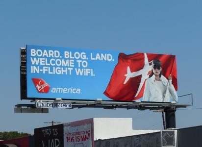 Билборд Virgin America