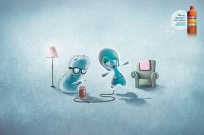 Реклама против микробов