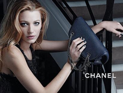 Реклама сумочек Шанель