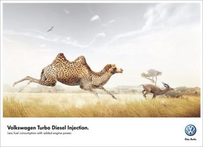 Креативная реклама Volkswagen
