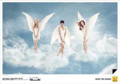 Реклама Renault Megane CC
