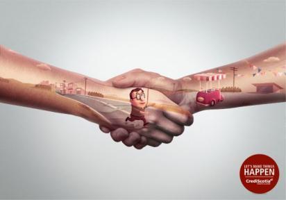Реклама кредитной линии CrediScotia