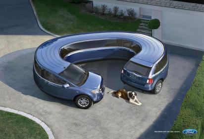 Реклама автомобилей Ford