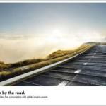 Креативная #reklama №1k615 — Турбодизельный двигатель Volkswagen: Свободная поездка