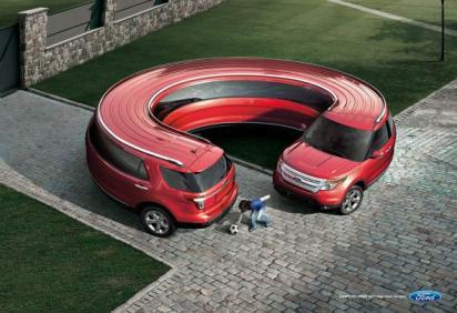 Реклама Форд