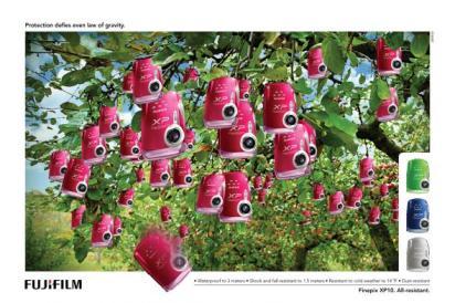 Реклама удароустойчивого фотоаппарата