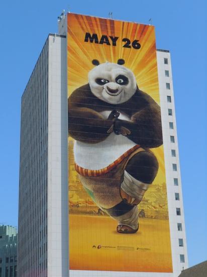 Билборд Кунг-фу Панда