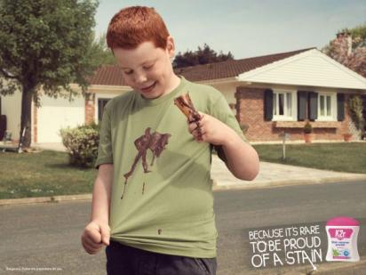 Реклама против пятен