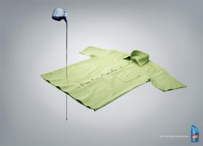 Реклама отбеливателя