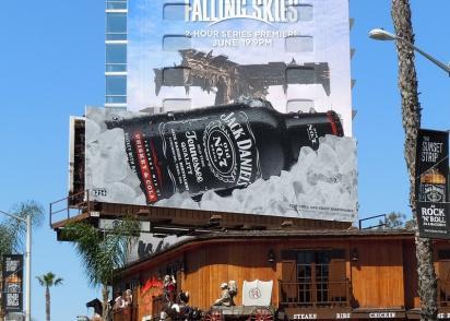 Билборд + Jack Daniel's + лёд