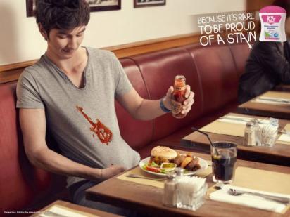 Реклама пятновыводителя
