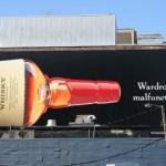 Креативная #reklama №1k612 — Билборд с рекламой виски Maker's Mark