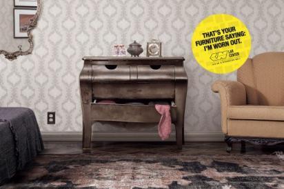 Креативная реклама мебельного магазина