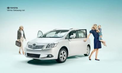 Реклама Toyota Verso