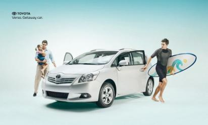 Реклама автомобиля