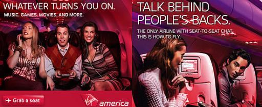 Реклама авиационной компании
