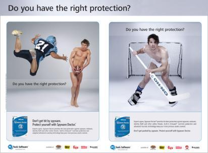 Реклама Spyware Doctor в журнале