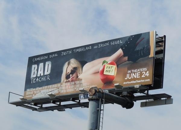 Билборд Очень плохая училка