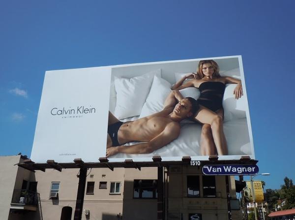 Билборды новой коллекции Calvin Klein