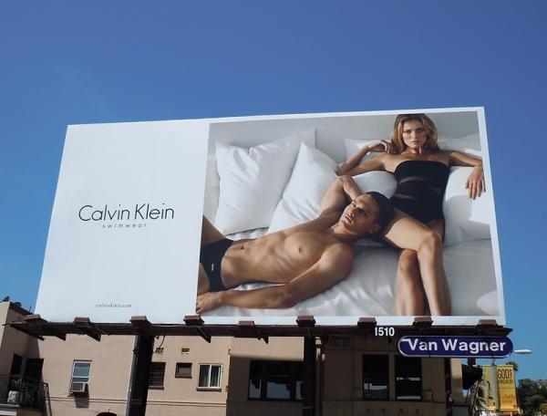 Билборд Calvin Klein
