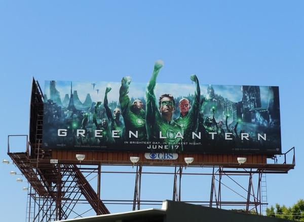 Билборд Зеленый Фонарь