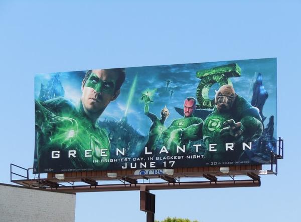 Рекламный щит Зеленый Фонарь