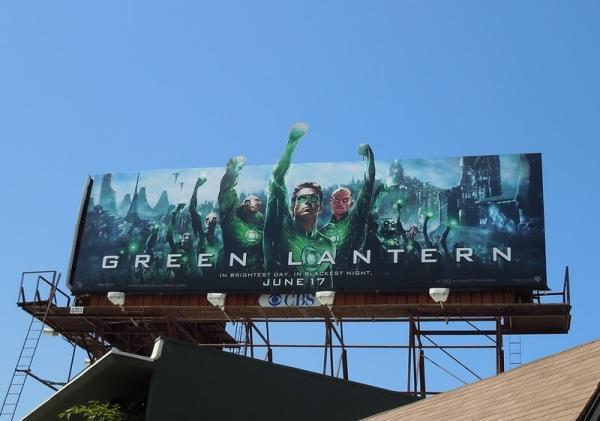 Новый билборд Зеленый Фонарь