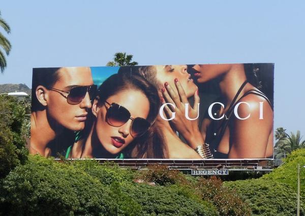 Билборд Gucci