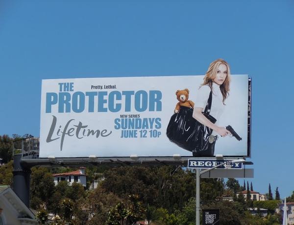 Билборды сериала Защитница