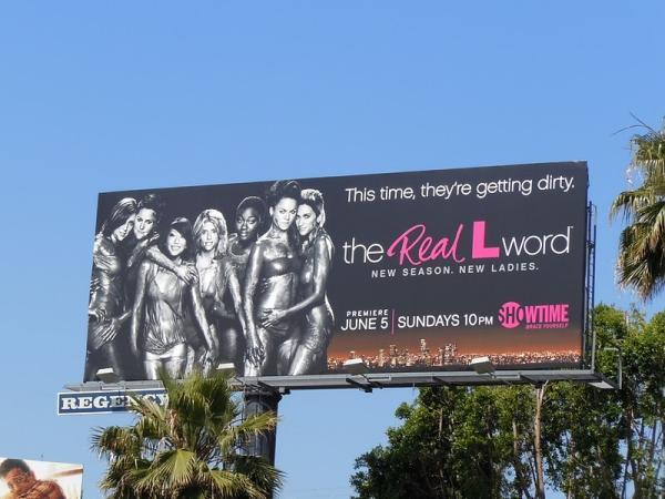 Реклама вторго сезона сериала The Real L Word