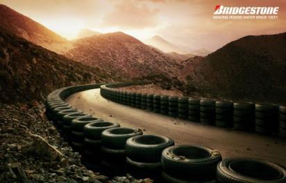 Реклама шин Bridgestone