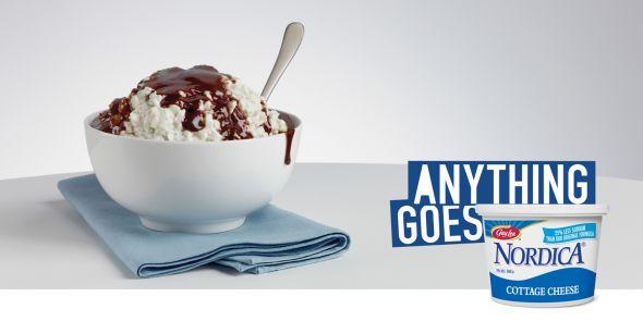 Реклама творога Nordica
