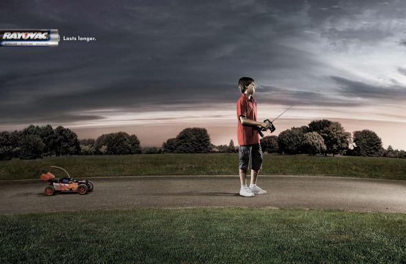 Реклама батареек Rayovac
