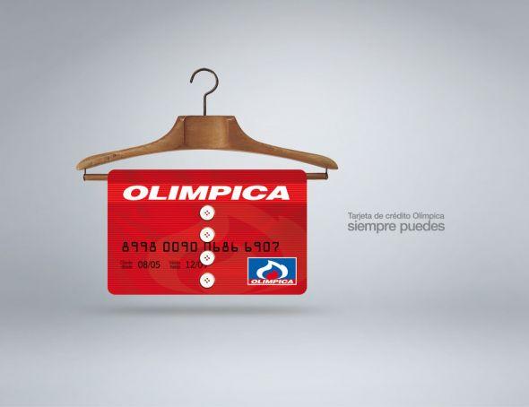 Креативная реклама кредитной карты