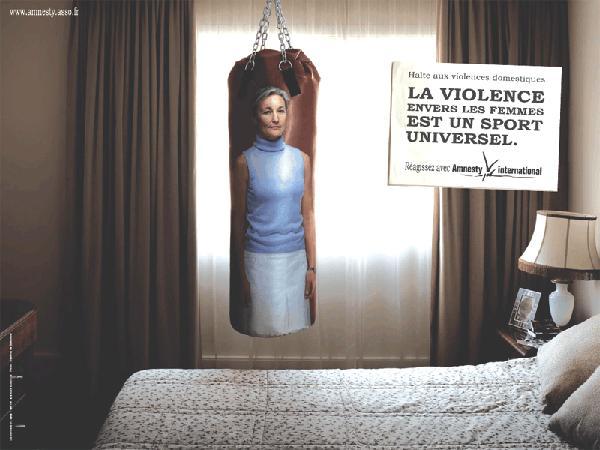 Реклама против насилия в семье