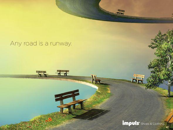 Реклама обуви Impuls