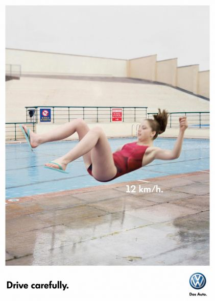Реклама Volkswagen без рекламы автомобилей