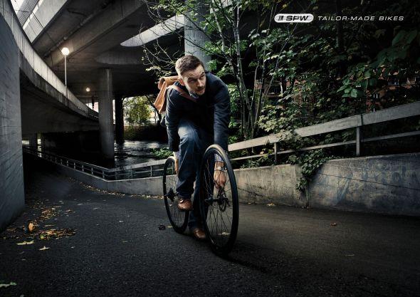 Реклама велосипедов SPW