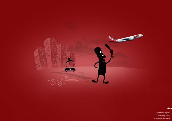 Реклама Авиакомпании TAM