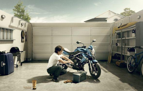 Реклама автозагара