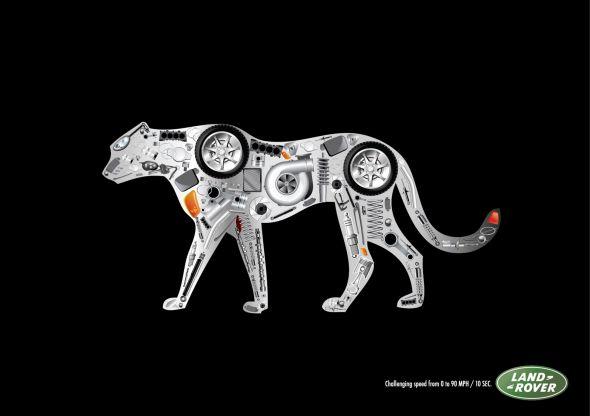 Реклама Land Rover