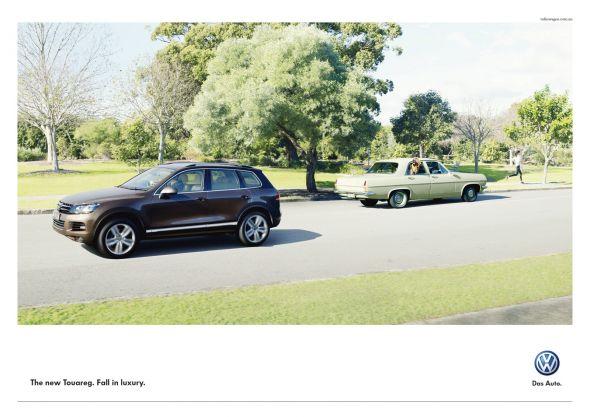 Volkswagen Touareg - заметный автомобиль