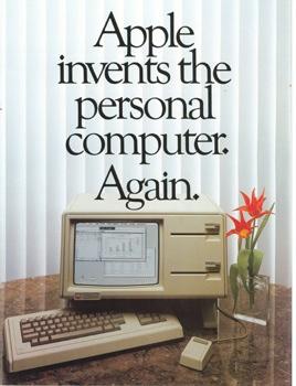Старая реклама Apple