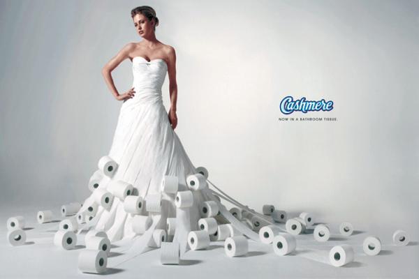 Реклама туалетной бумаги