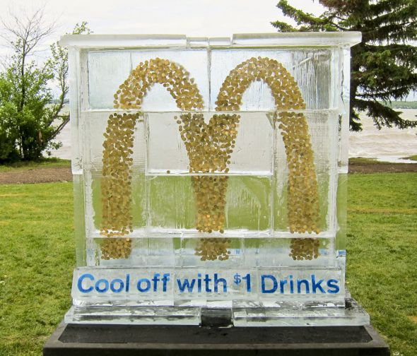 Скульптура МакДональдс
