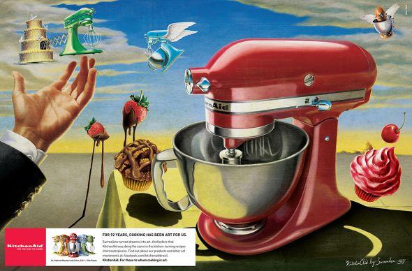 Реклама кухонного миксера