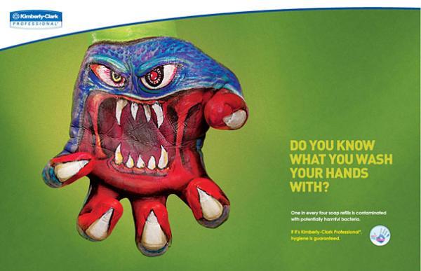Креативная реклама мыла