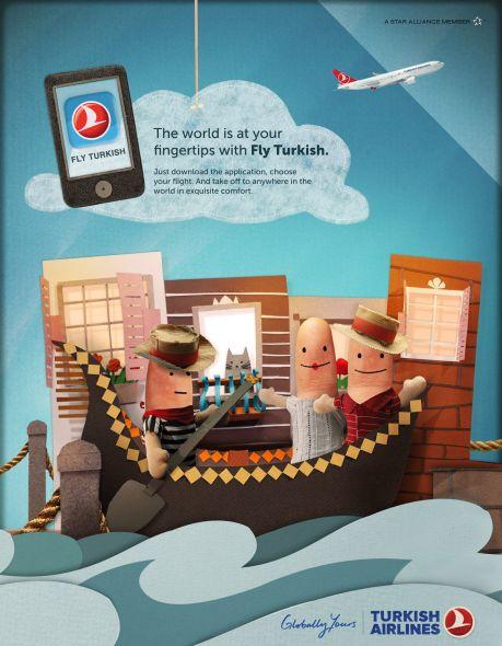 Реклама авиакомпании