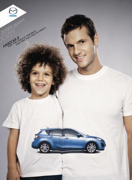 Семейный автомобиль Мазда